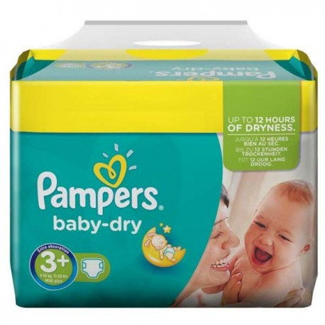 340 couches pampers baby dry taille 3 pas cher sur couches center - Couches pampers taille 3 ...