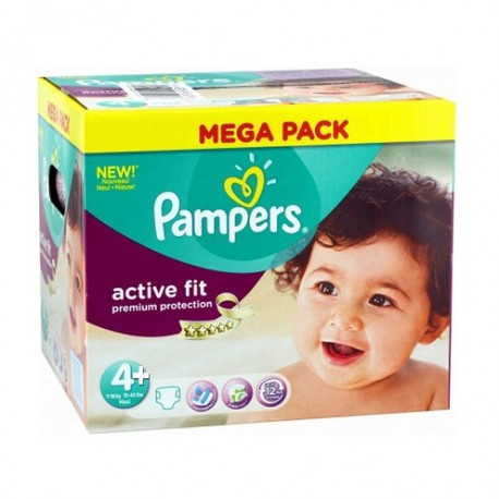 250 couches pampers active fit taille 4 en promotion sur - Couches pampers taille 4 comparateur prix ...