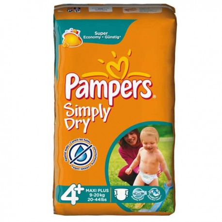 44 couches pampers simply dry taille 4 bas prix sur - Couches pampers taille 4 comparateur prix ...