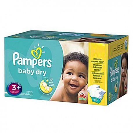68 couches pampers baby dry taille 3 en promotion sur - Prix couches pampers baby dry taille 4 ...