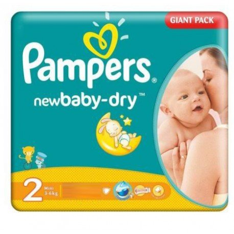 Couches pampers new baby dry taille 2 moins cher sur - Prix couches pampers new baby taille 1 ...