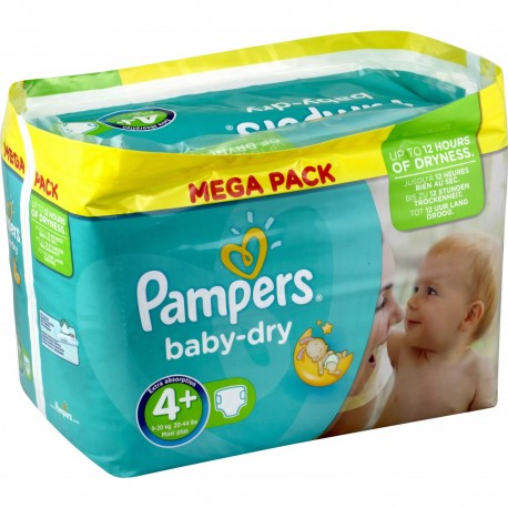 210 couches pampers baby dry taille 4 moins cher sur - Prix couches pampers new baby taille 1 ...
