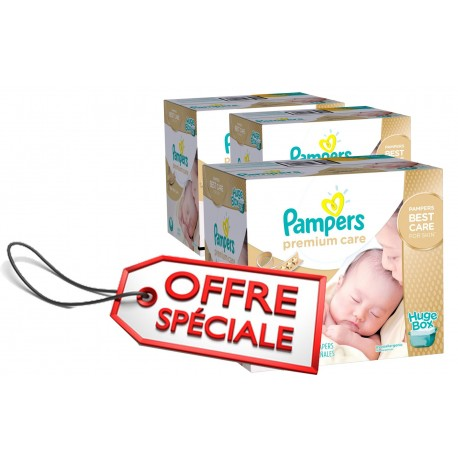 506 couches pampers premium care taille 1 petit prix sur. Black Bedroom Furniture Sets. Home Design Ideas