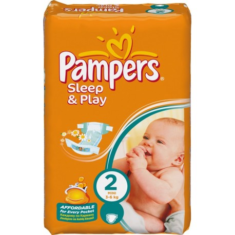 18 couches pampers sleep play taille 2 pas cher sur couches center - Couches pampers taille 1 ...