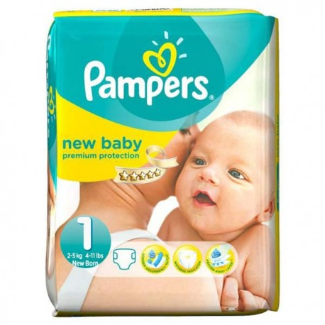 56 Couches Pampers New Baby Taille 1 Moins Cher Sur Couches Center